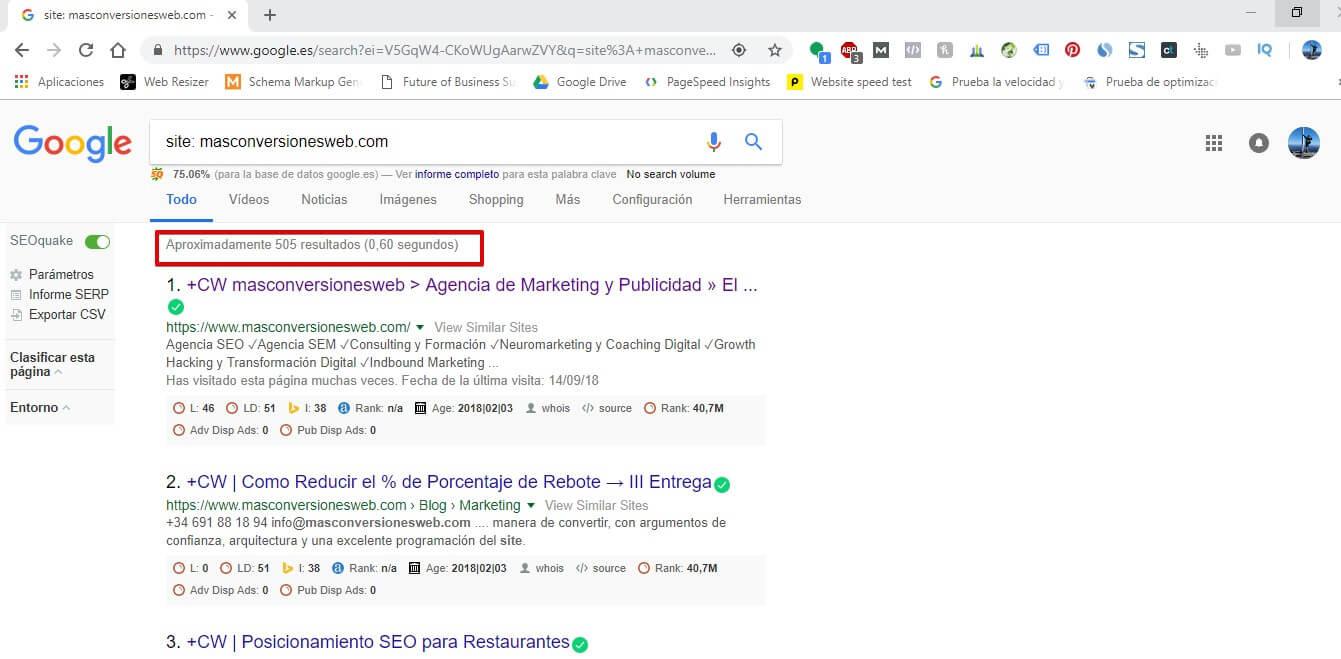 SITELINK-ORO #19: Revisa la indexación de tu sitio web