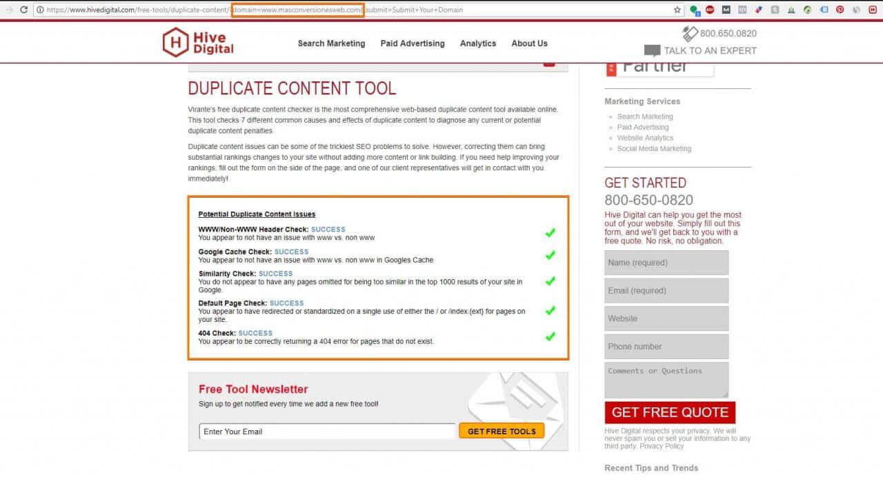 Virantes-free-duplicate-content-checker Plagio de Contenidos