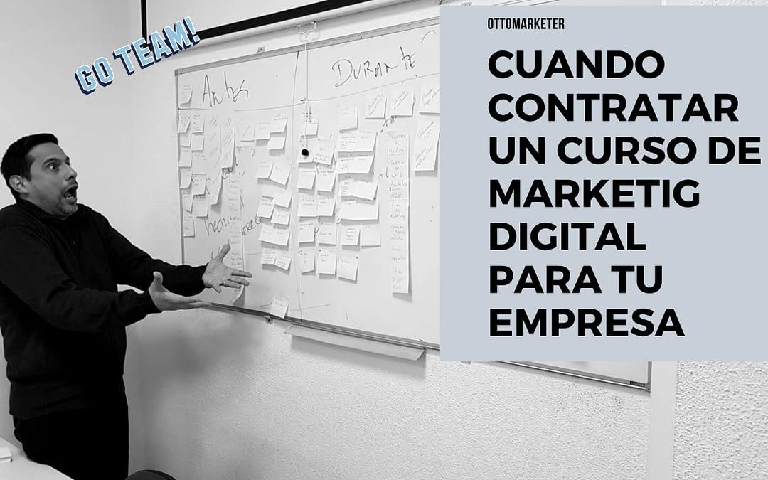 ¿Pensando en un Curso de Marketing Digital para Empresas?